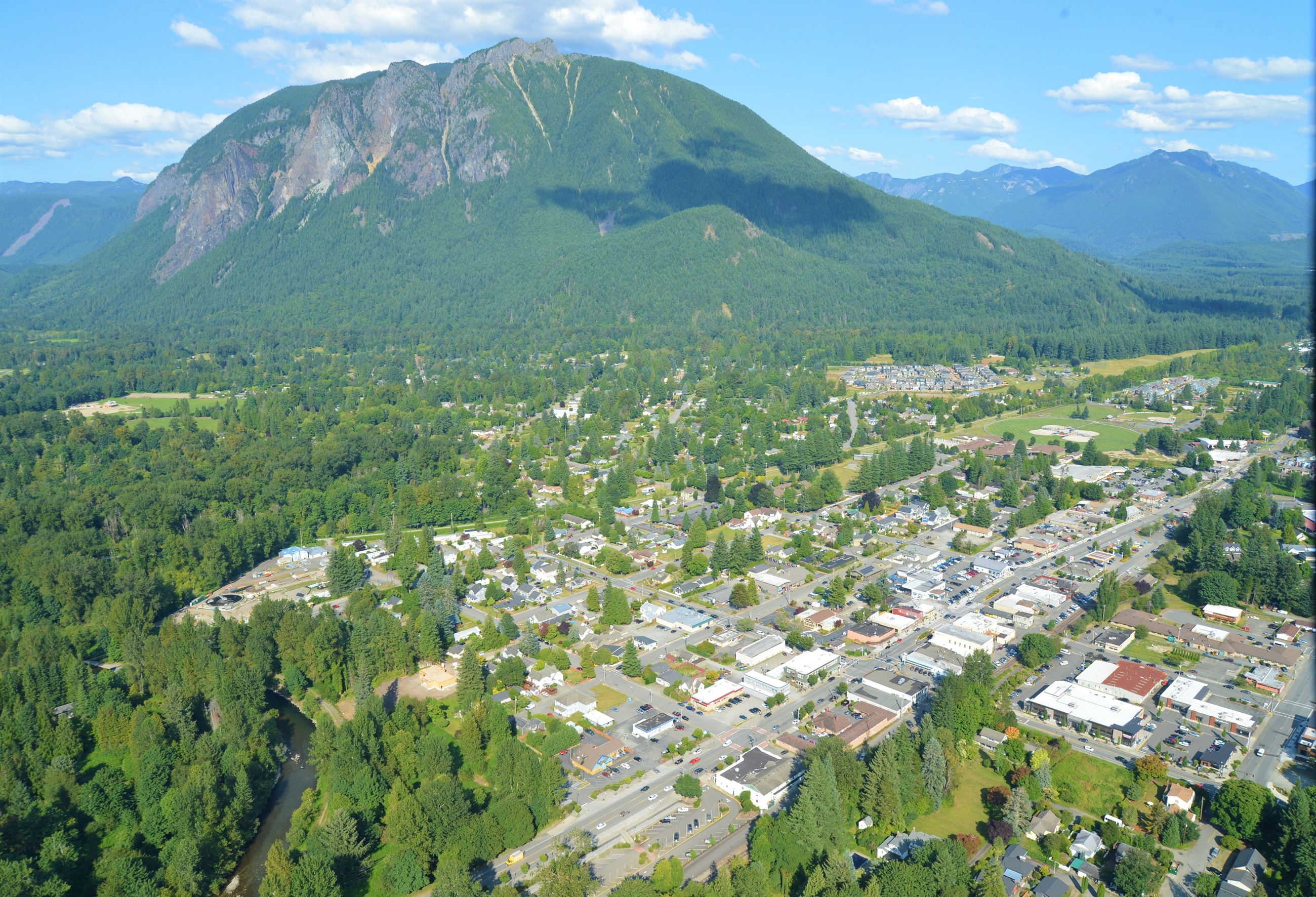 Downtown North Bend - Photo Courtesy Mary Miller