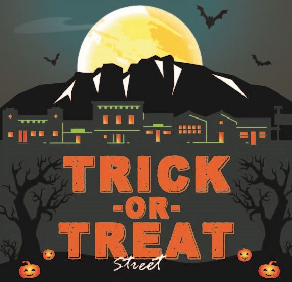 2018 Trick-Or-Treat Street Logo, No Date