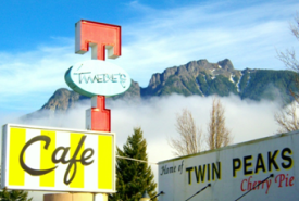 Twede's Cafe Exterior and Sign