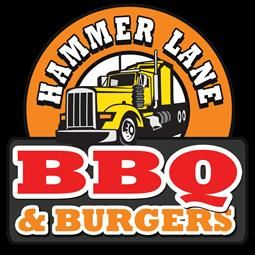 Hammer Lane BBQ and Grill Logo Opens in new window